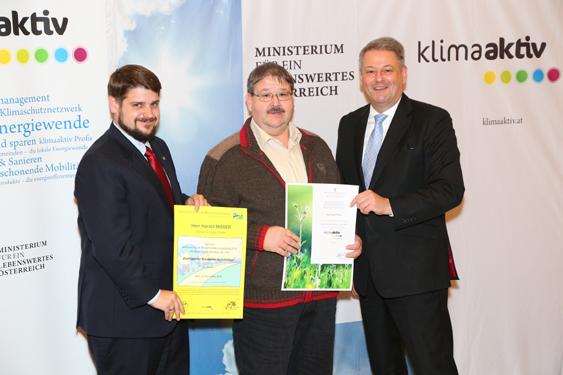 Auszeichnung klimaaktiv Profis